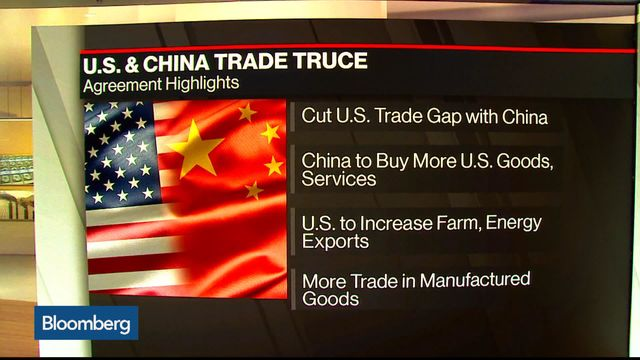Limited truce in US-China trade conflict