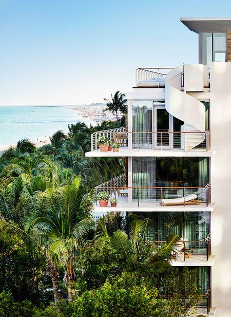 Miami Beach EDITION's bungalows.