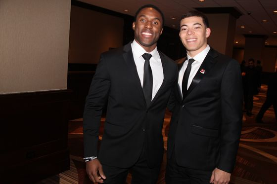 Ivy League Football Players Relive Glory Days at Banquet