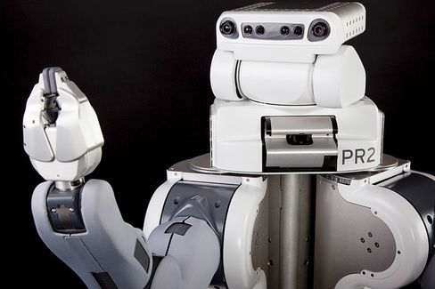 Dinner and a Robot: My Night Out With a PR2