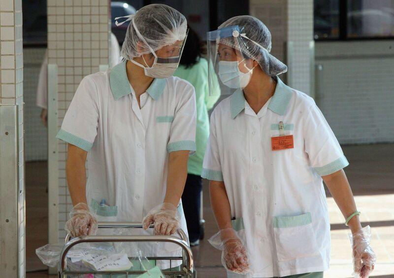 Cases Of SARS In Hong Kong Climb