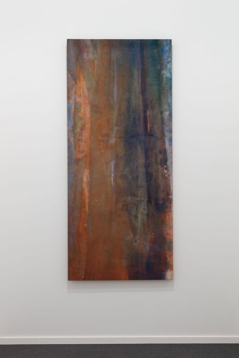 Sam Gilliam, Frieze Masters, 2015, London, installation view