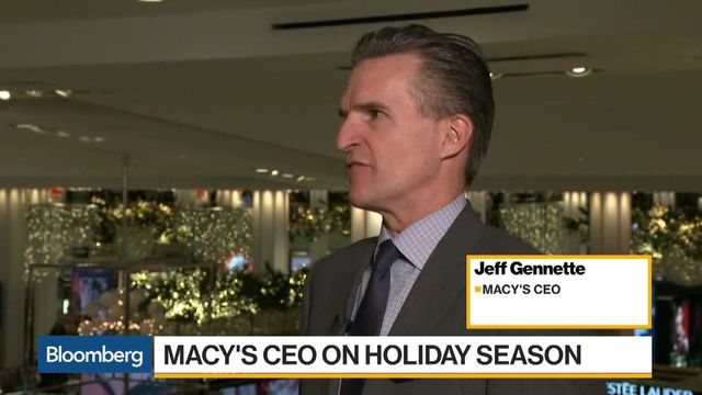 Macy's says it's fixed gift, credit card issue