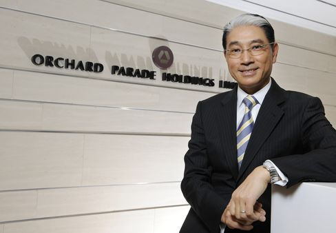 Orchard Parade Holdings CEO Lucas Chow