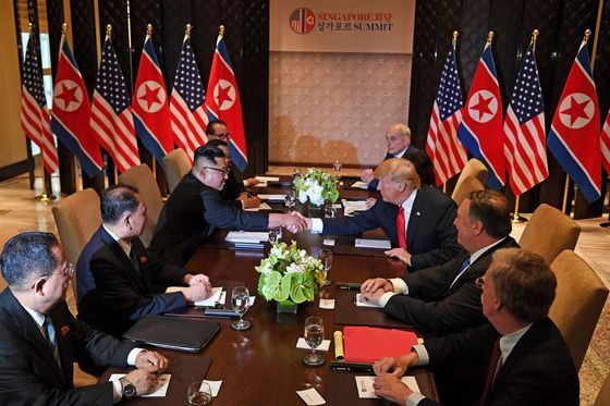 Trump, Kim Voice Optimism on Path to Peace With Summit Under Way
