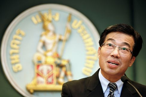 Bank of Thailand Assistant Governor Paiboon Kittisrikangwa