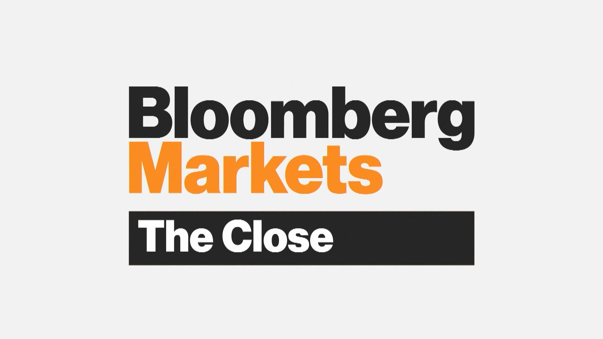 'Bloomberg Markets: The Close' Full Show (08/16/2019)