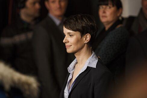 Frauke Petry in Berlin on March 13