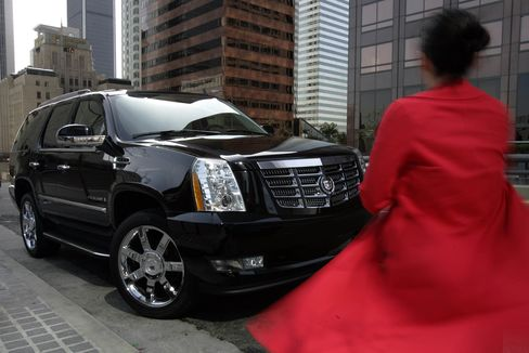 The very urban and enormous Cadillac Escalade is a luxe SUV with a bit of a bumpy ride. It rides on