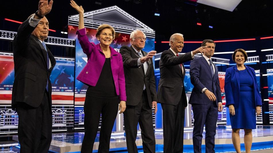 Highlights of Democratic Debate in Las Vegas