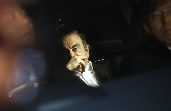 Ghosn-Led Companies Donated to His Kids' School, Paris Ball