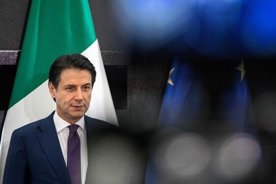 Italian Prime Minister Conte Admits Economy Is in Recession