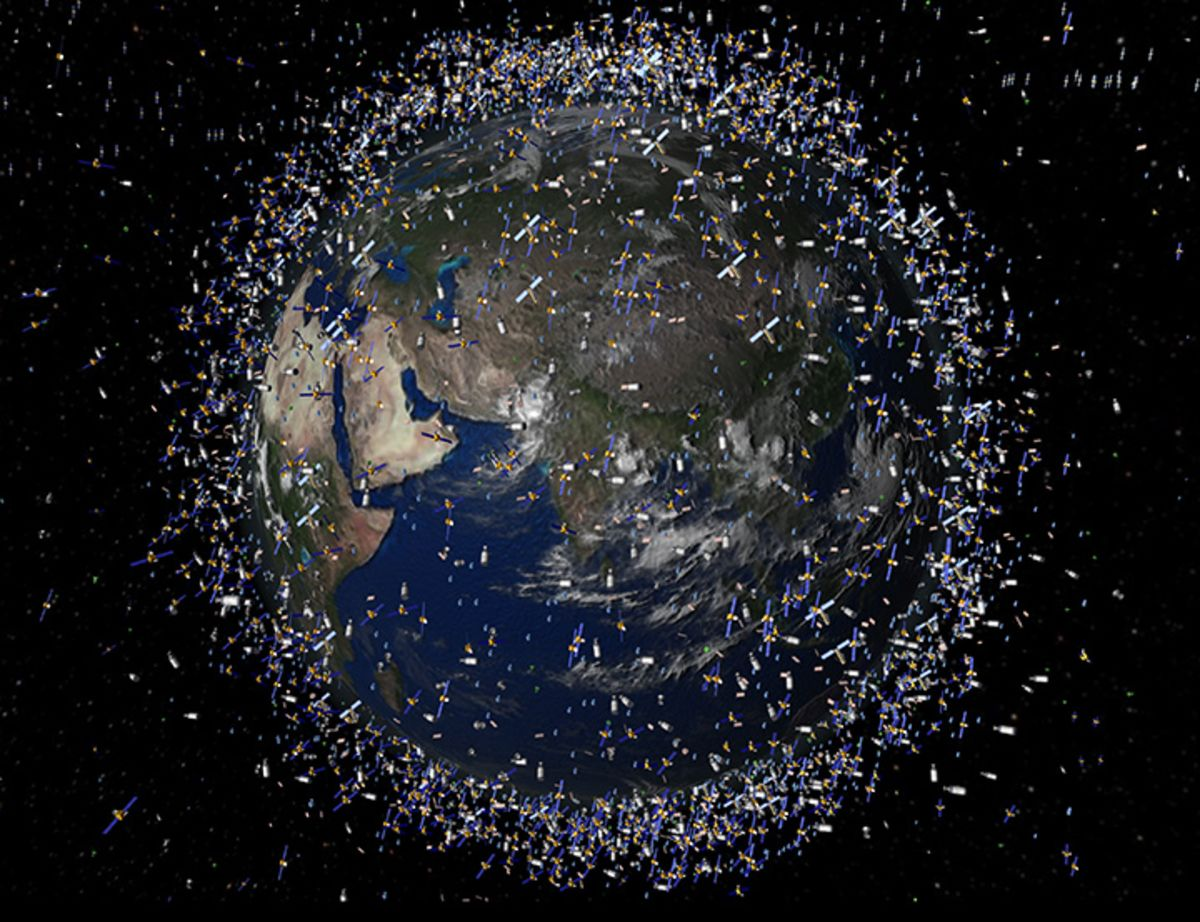 Space Junk Cleanup to Begin With European Space Agency Mission