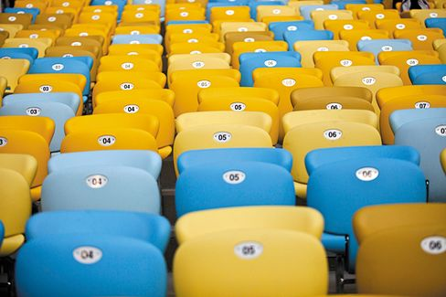 At Brazil's World Cup, a Battle Over Maracana Stadium Seats