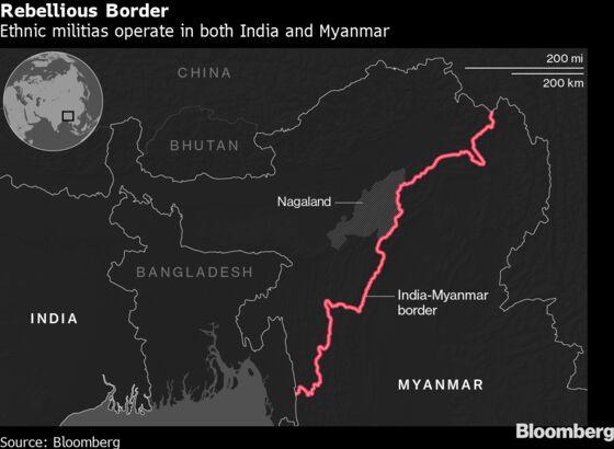 India Accuses China of Helping RebelGroups on Myanmar Border