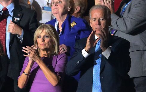 U.S. Vice President Joe Biden and Dr. Jill Biden