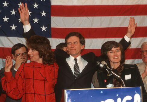 Gary Hart Campaign Rally