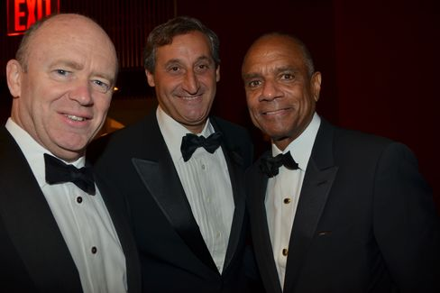 John Cryan, Jacques Brand and Kenneth Chenault
