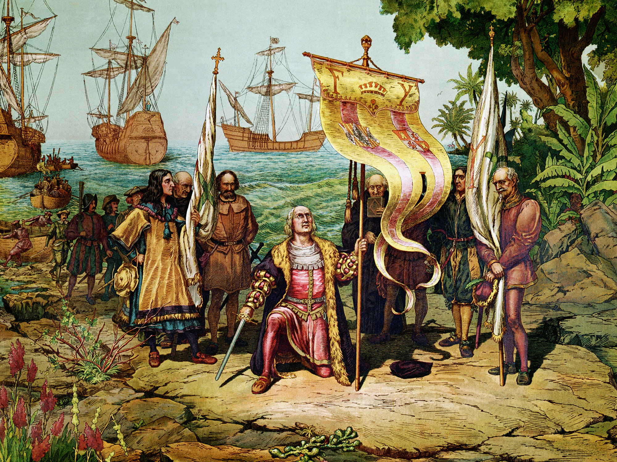Christopher Columbus Letter To King Ferdinand.Columbus Letter From 1493 Is Returned To Spain Courtesy Of