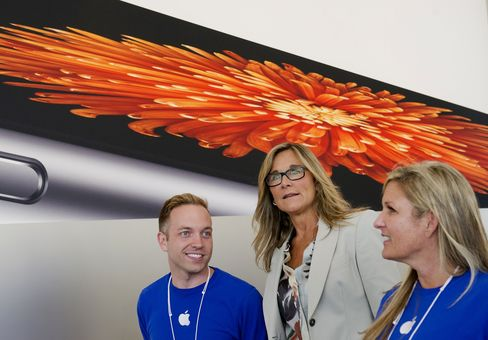 Apple Inc.'s Angela Ahrendts