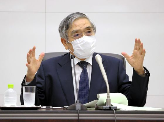 BOJ's Kuroda Vows to Closely Coordinate With Suga Government