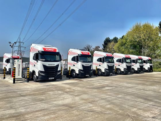 Truckers to Get Biggest Green Gas Station as U.K. Network Grows