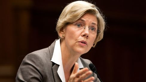 Elizabeth Warren, the Obama administration adviser who is setting up the new Consumer Financial Protection Bureau, testifies to the House Oversight and Government Reform Committee in Washington, D.C., U.S., on Thursday, July 14, 2011.