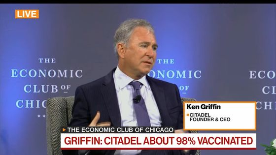 Ken Griffin Sees Young People Making 'Grave Mistake' Working at Home