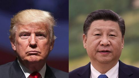 トランプ米大統領と習近平中国国家主席