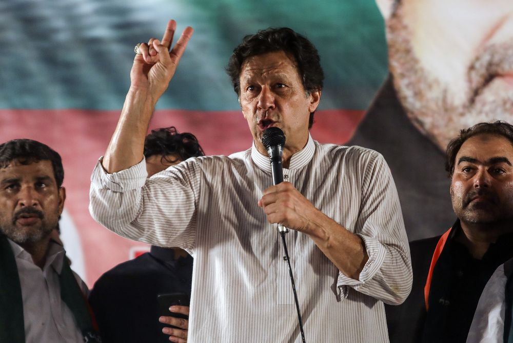 Pakistan Premier Khan Has $684,000 in Assets -- And Four Goats