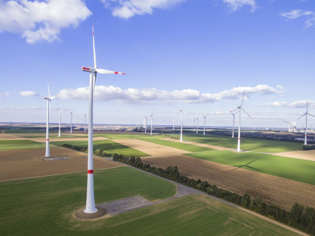Prepare for the future. There was so much wind power in Germany, a country full of wind tutbines, that residents actually got free electricity.