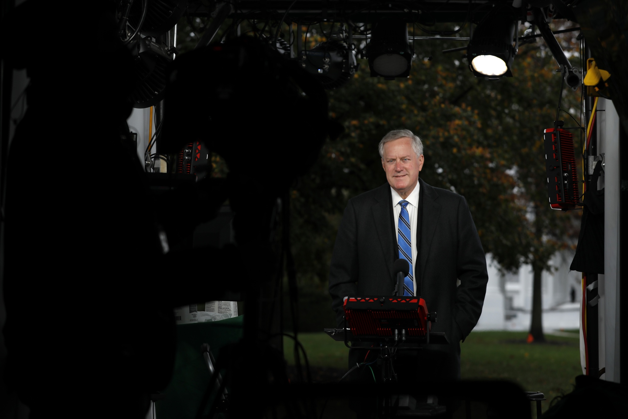 White House Chief Of Staff Mark Meadows Interview