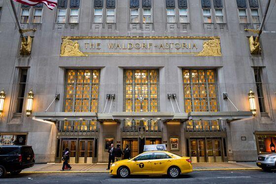 Waldorf Hotel Renovations Continue Despite Pressure on Owner Anbang