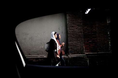 Iranian Women Baring Necks in Sign of Moderation