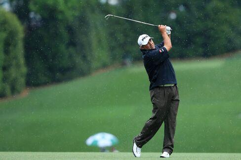Golfer Angel Cabrera