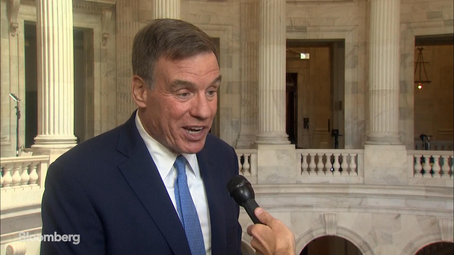 Sen. Warner Says Facebook Self-Regulation 'Not Going to Cut it'