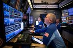 Trading On The Floor Of The NYSE Following FOMC Rate Decision