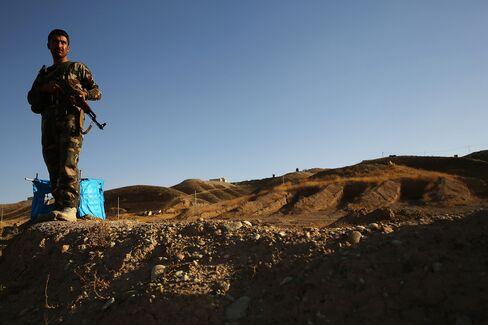 Kurdish Soldier in Iraq