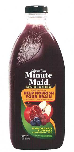 Minute Maid Pomegranate Blueberry beverage