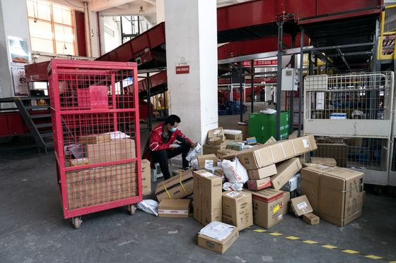 China's War on Urban Waste Has a New Foe: Delivery Packaging