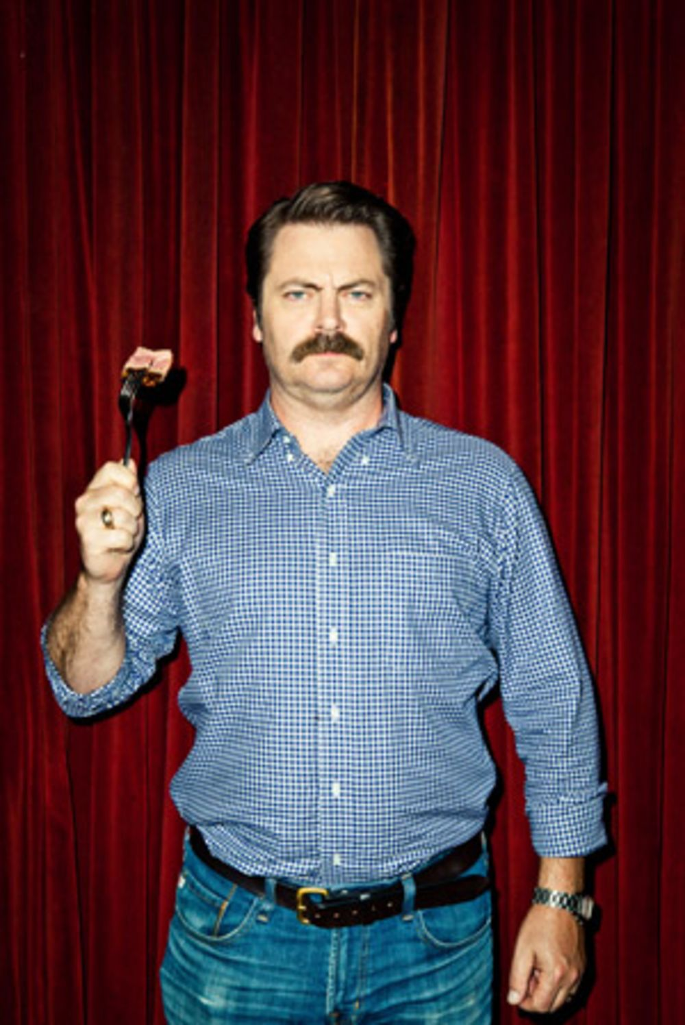 Image result for nick offerman grilling