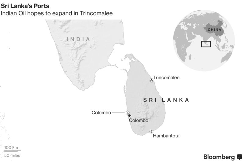 India Nips at China\'s Heels in Race to Collect Lanka Port Assets