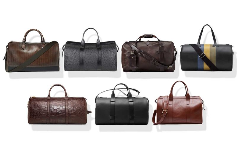 A Leather Duffel Is Secretly the Best Bag for Every Day - Bloomberg