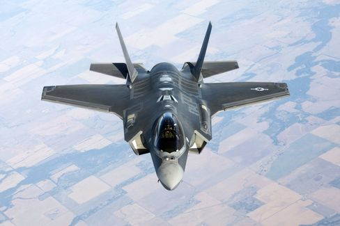 Lockheed's Troubled F-35 Said to Be Unscathed in Pentagon Budget