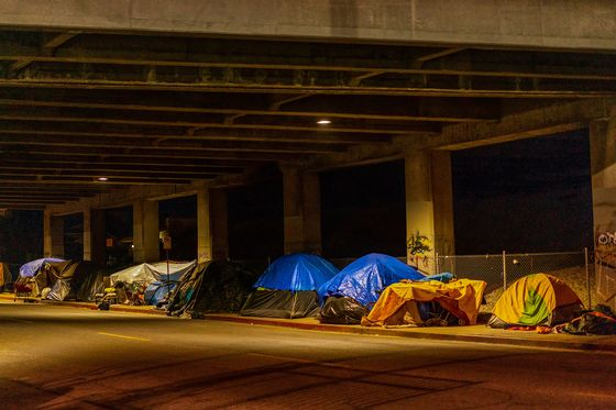 L.A.'s First Step in Housing the Homeless Is Counting Them