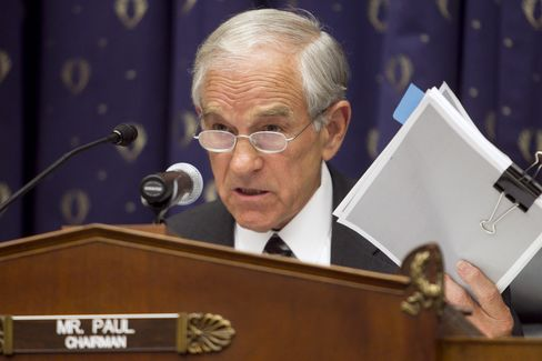 Republican Representative Ron Paul