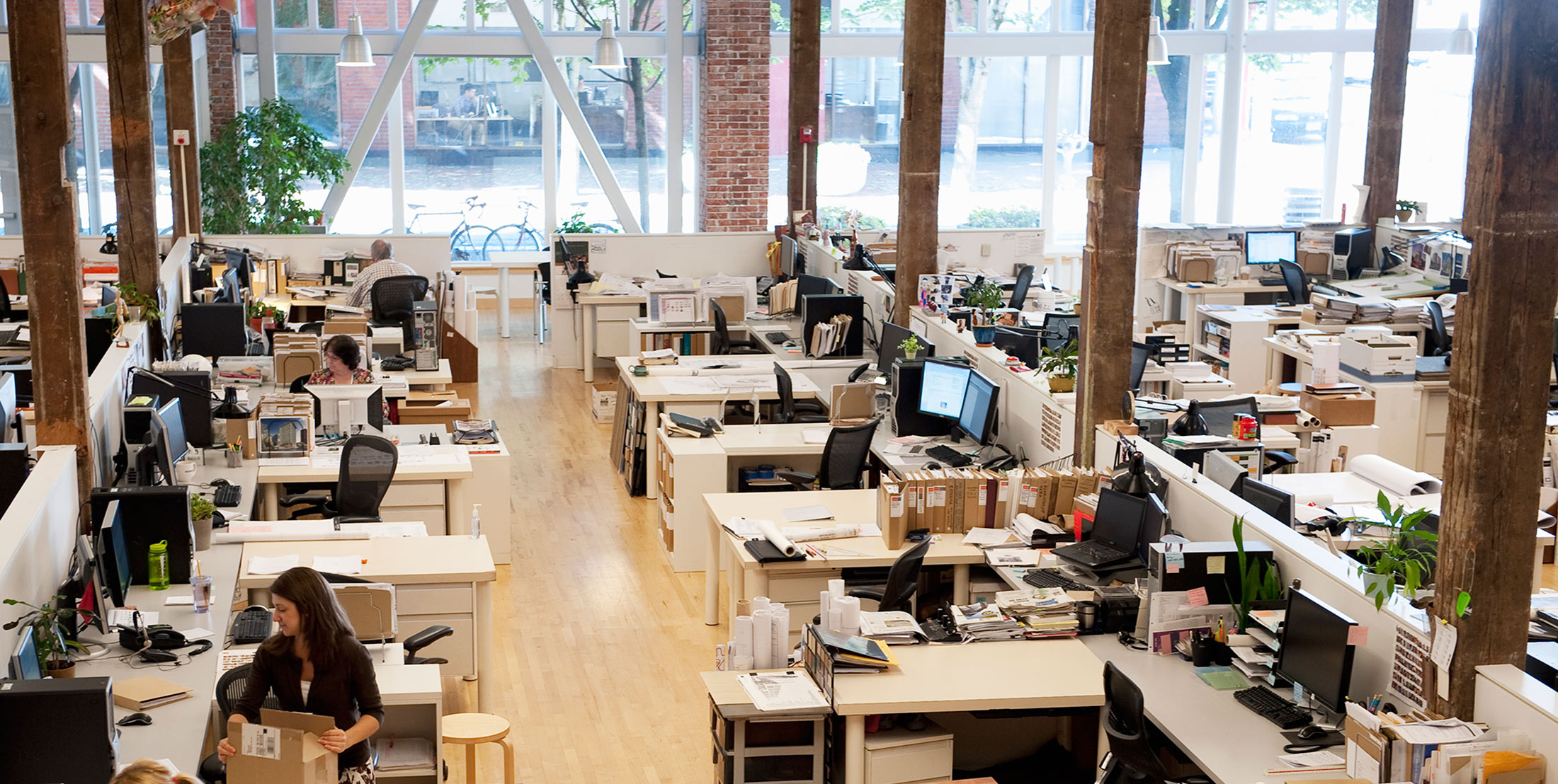 the ideal office floor plan according to science bloomberg