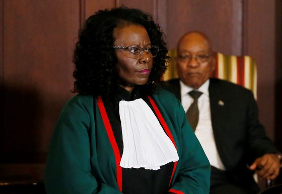 South African President Names Khampepe Acting Chief Justice