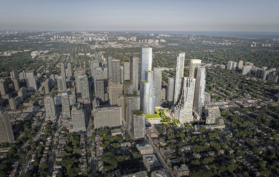 Oxford Makes $2 Billion Urban-Living Bet on Toronto Skyscrapers
