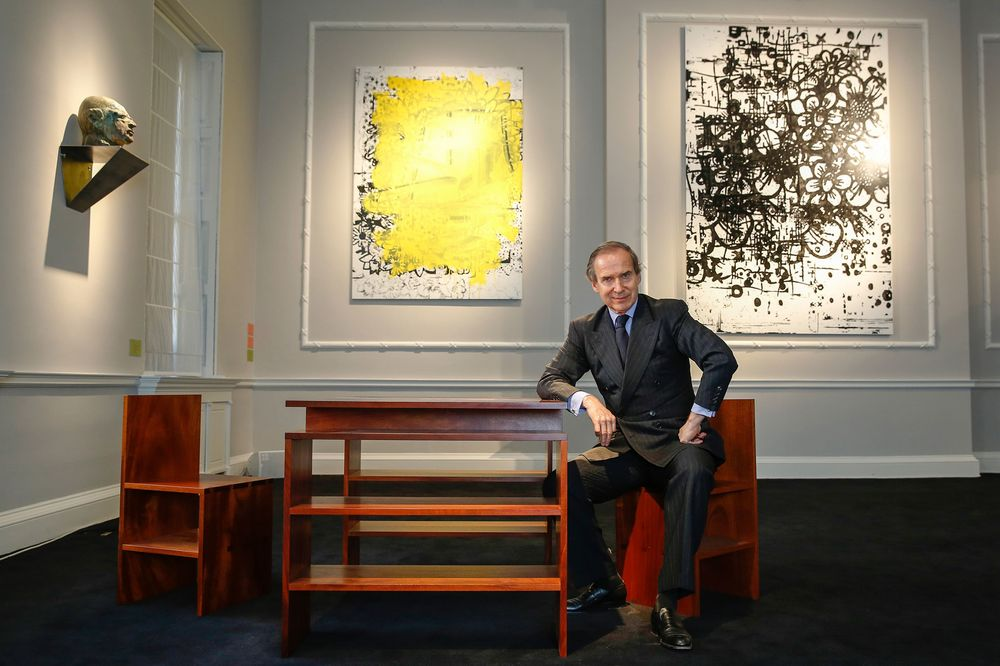 The Surreal Art and Interiors of Simon de Pury\'s Ely House Auction ...